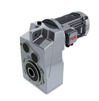 Мотор-редуктор цилиндрический с параллельными валами